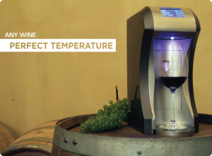 [Photo courtesy of The Cryos Wine Chiller Kickstarter page]